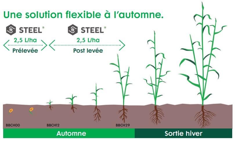 herbicide steel